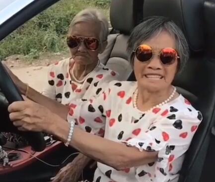 广西网红奶奶:时尚奶奶
